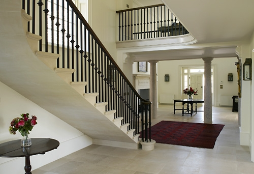 finish Cantilever stair case